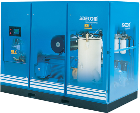 Class Zero Silent Rotary Air Oil Free Screw Compressor (KD132-10ET)
