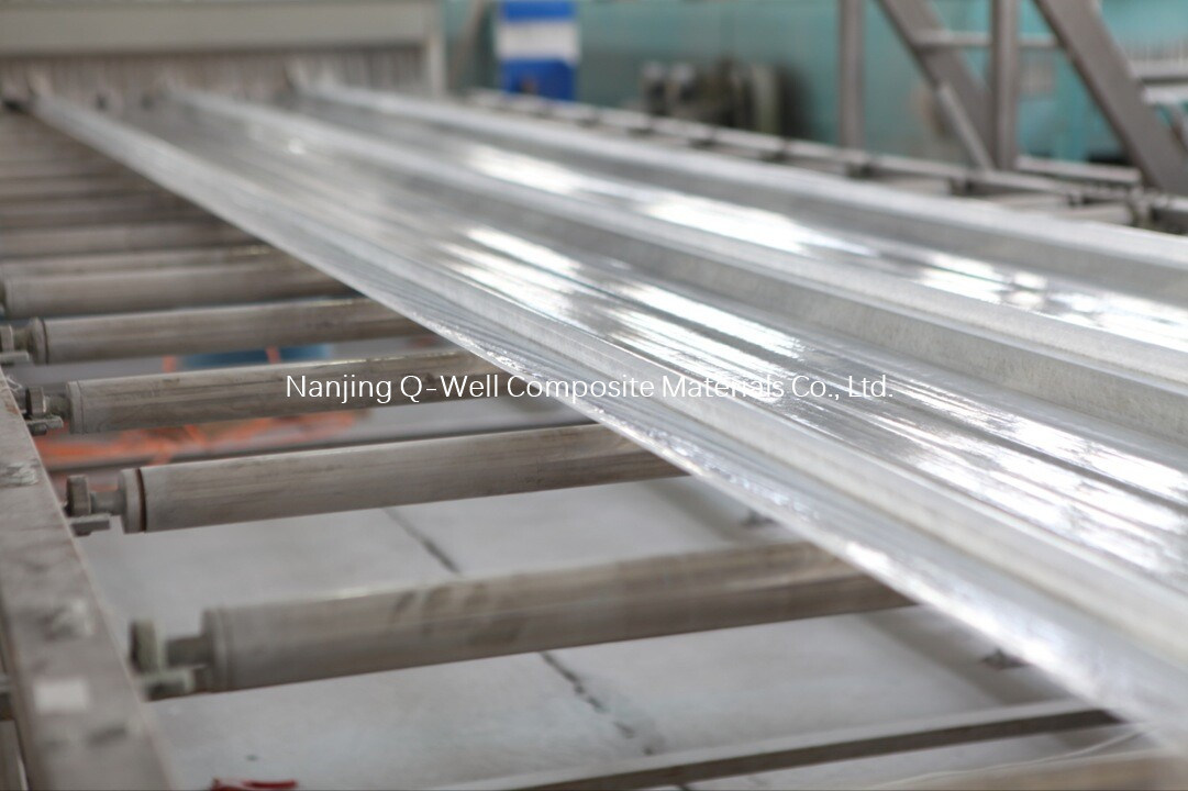 FRP Panel Corrugated Fiberglass/Fiber Glass Color Roofing Panels T172011