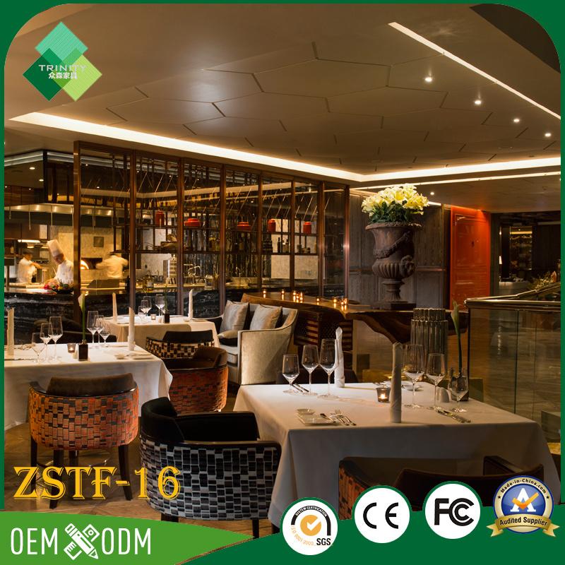 Modern Natural Style Rosewood Hotel Furniture Bedroom Set (ZSTF-16)
