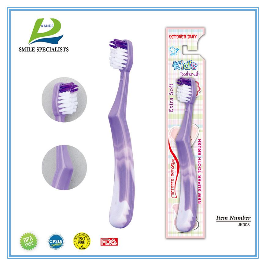Cartoon Children Toothbrush with Cartoon Printing