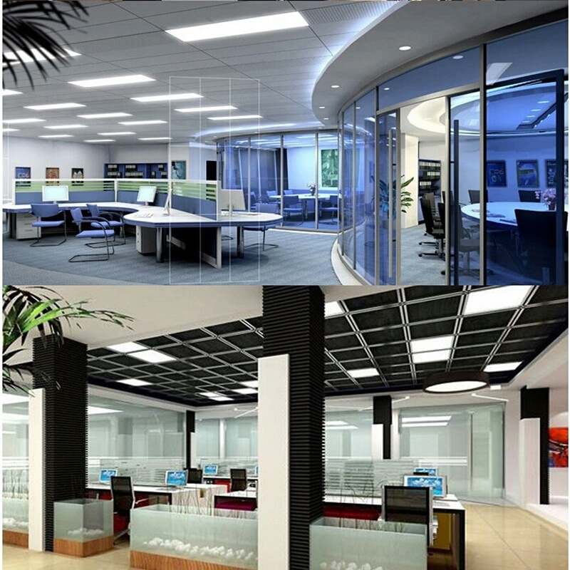 9W Square Glass Panel LED Lightings