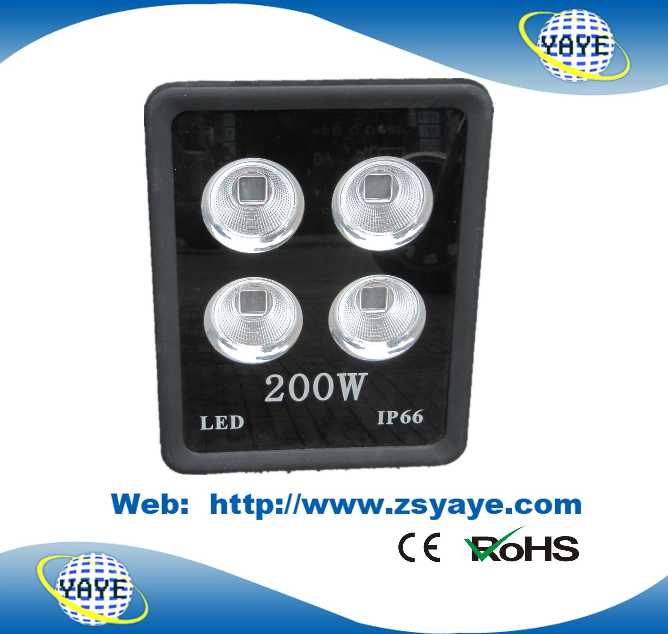 Yaye 18 Hot Sell Competitive Price USD106.5/PC COB 300W LED Flood Lights / Outdoor LED Tunnel Light with 3 Years Warranty