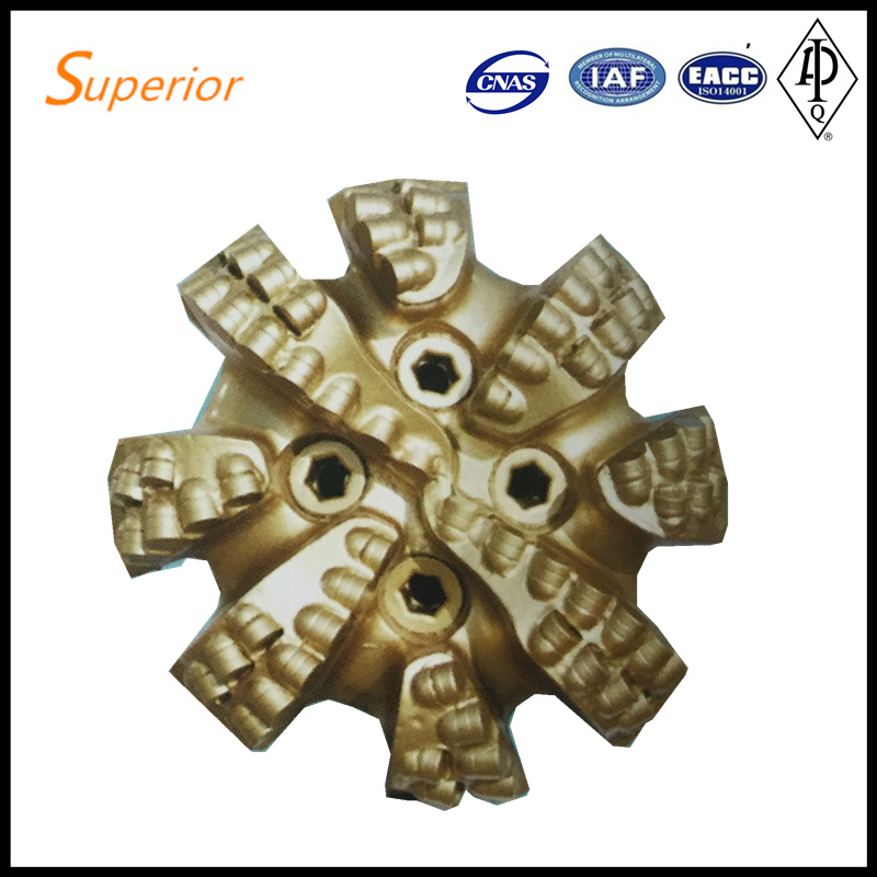 7 1/2′′ Matrix PDC Bit IADC 432 Oil Gas Well Drilling Equipment