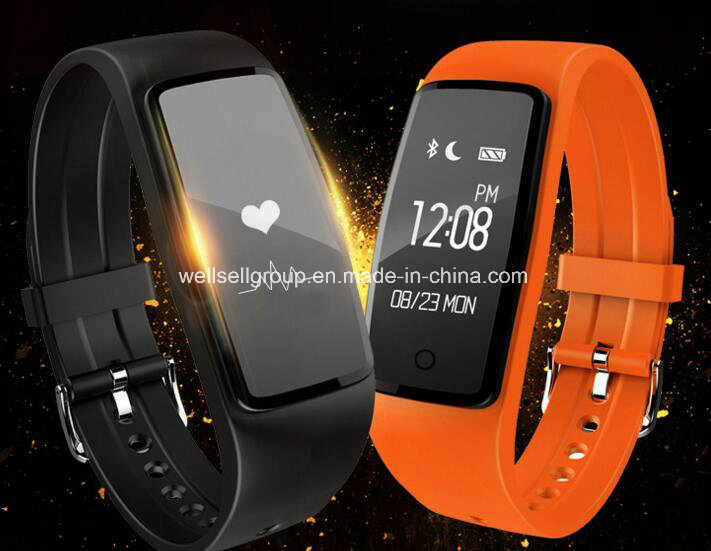 IP67 Waterproof Dynamic Heart Rate Monitoring Sleep Touch Screen Step Bluetooth Wearable Reminder Smart Bracelet for Android for Android Ios