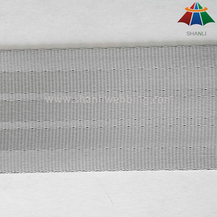 5cm Silver Gray Polyester Seat Belt Webbing