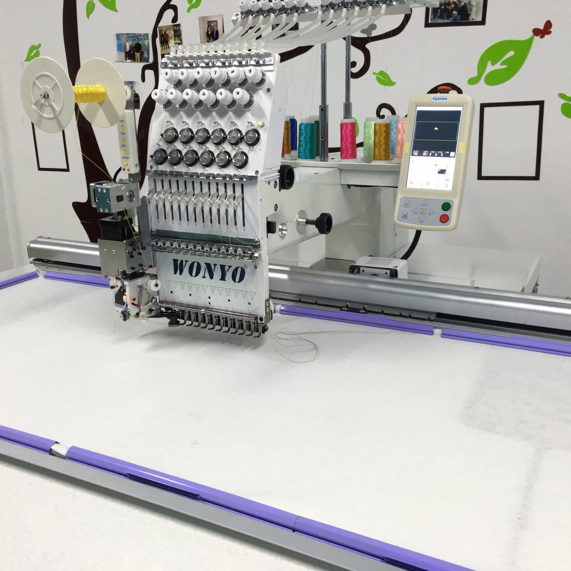 Wonyo Hot Sale Single Head Computer Sewing Machine Wy1201cl