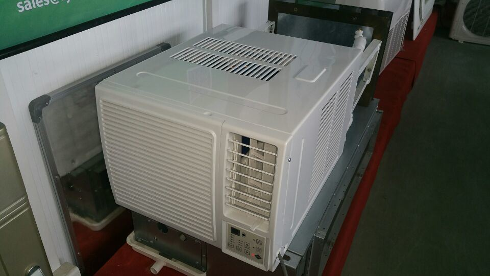 Save Power Window Mounted Type Hybrid Solar Air Conditioner