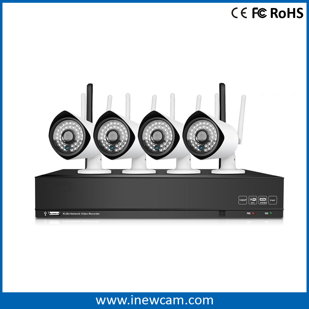 Outdoor 1080P Full HD Night Vision Wireless Security IP Camera