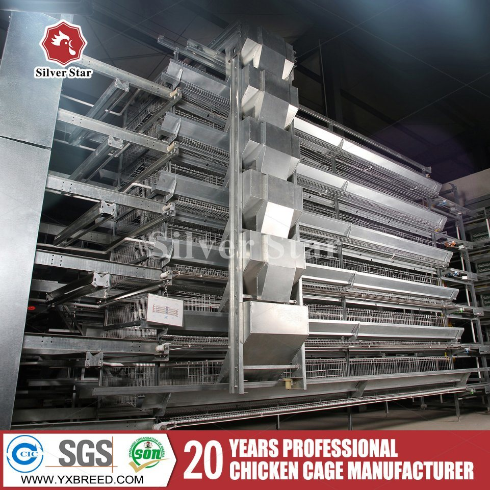 H Frame Layer Chicken Battery Cages for Poultry Farming Equipment