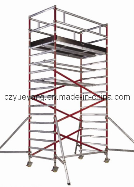 Aluminum Scaffolding Systems : China aluminium access scaffolding tower system at sp