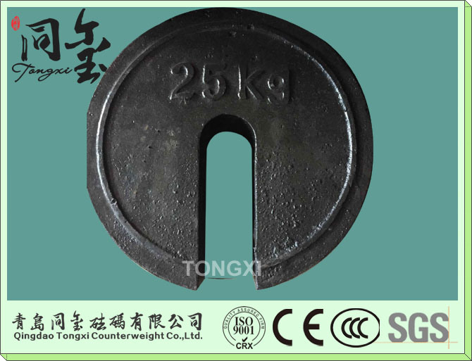 25kg Cast Iron Test Weights