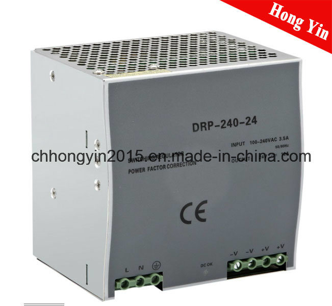 Drp-240 240W 24 V Single Output with Pfc Function Power Supply