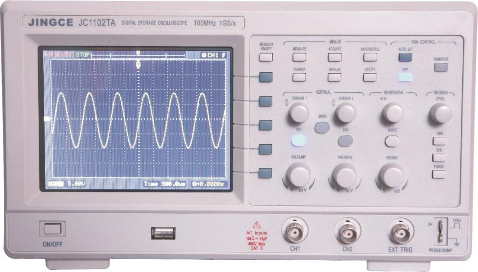 Osciloscopio De La Memoria Num 233 Rica De La Serie Jc1000