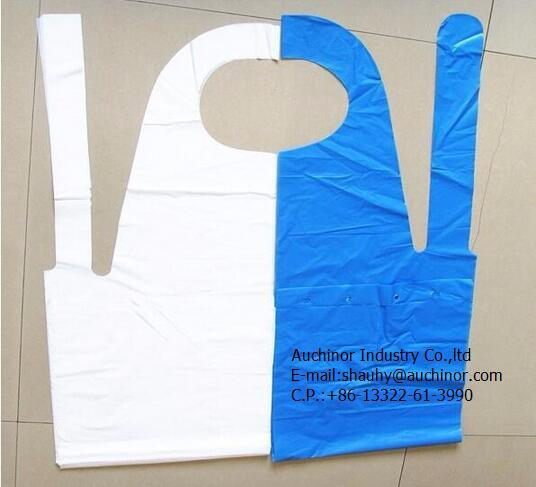 Hot Sale Disposable PE Plastic Apron