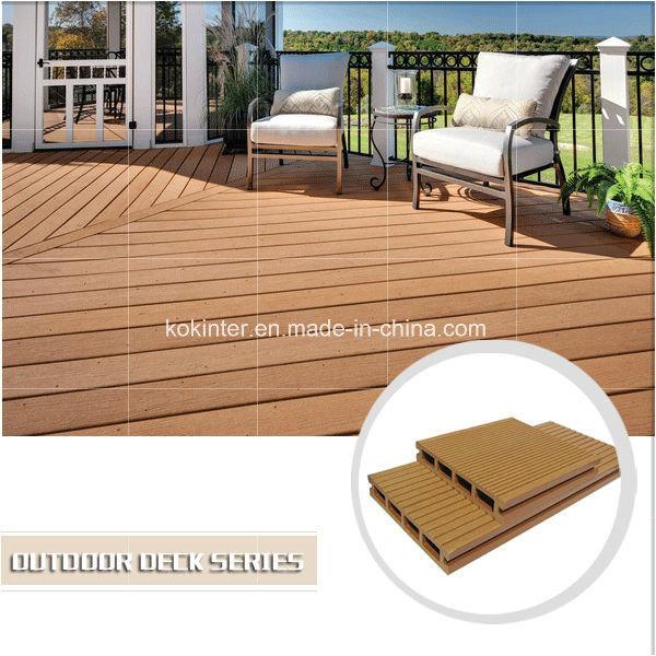Outdoor Wood Plastic Composite Decking WPC Flooring