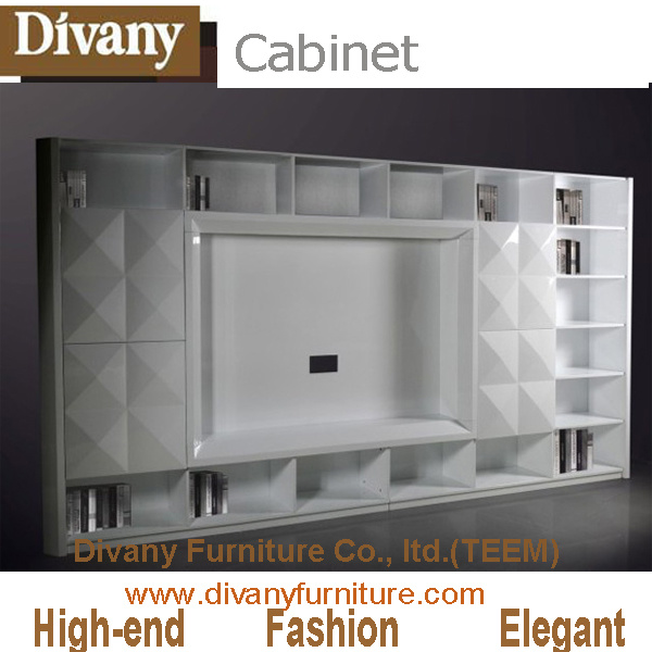 China Modern TV Cabinet Stand for Livingroom Furniture and