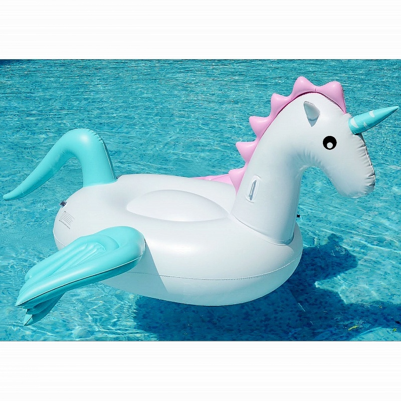 Water Inflatable Swim Water Air Inflatable Pegaus Unicorn Pool Floats