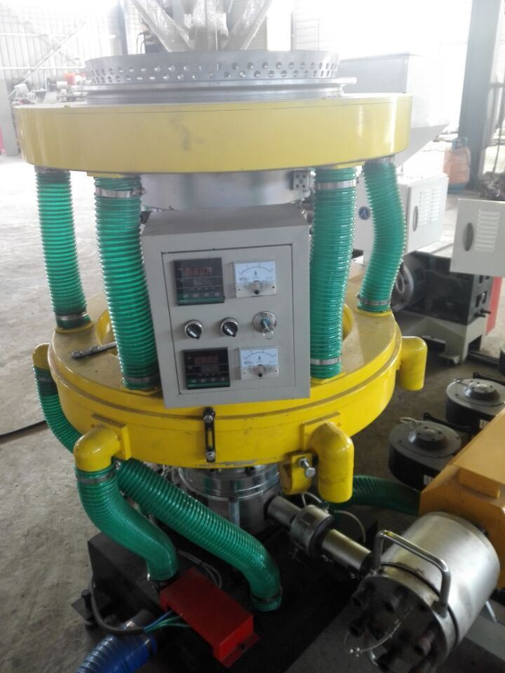 3 Layer ABA Coextrusion Automatic Plastic Film Extruder