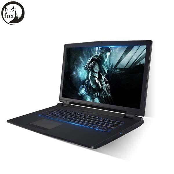 Fox Gaming Laptops Intel Core I7 6700k Nvidia Gtx-970m Type-C 17.3inch FHD 16GB DDR4 256GB M. 2 SSD, HDD 1tb Win10