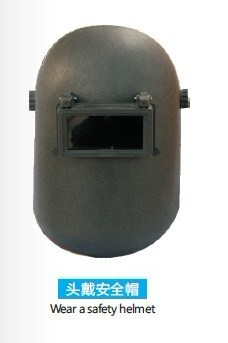 Black Color Safety Welding Mask for Protection