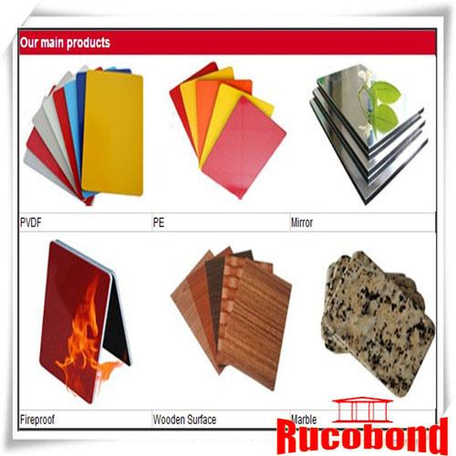 Guangzhou Canton Fair Aluminum Composite Panel PVDF ACP (RCB130511)