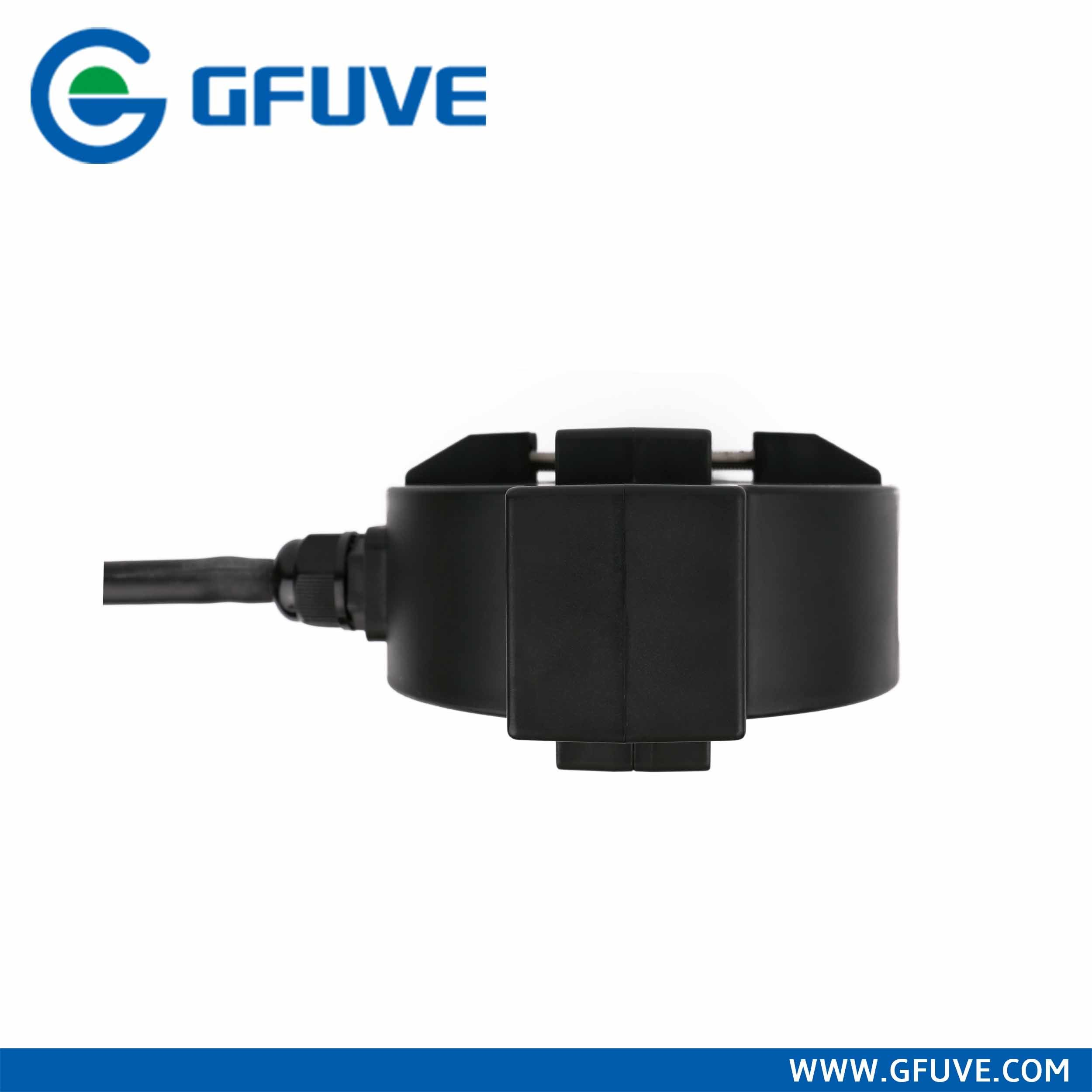 IP68 Outdoor Waterproof 200/5A Class 0.5s Black Color AC Split Core Current Transformer