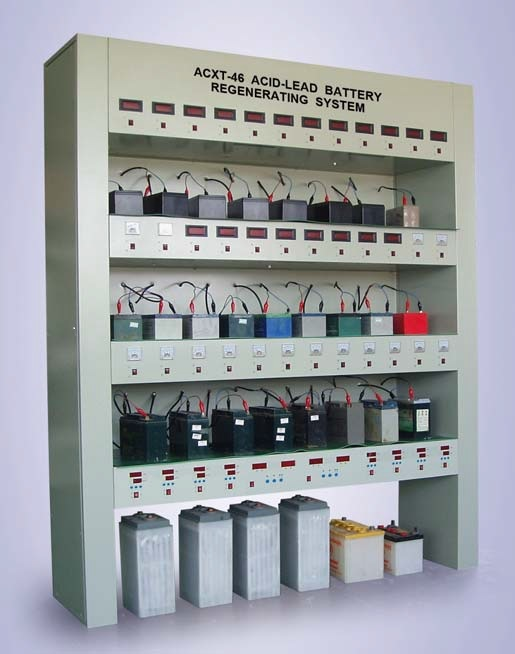 46 Channels Lead-Acid Battery Regenerating System