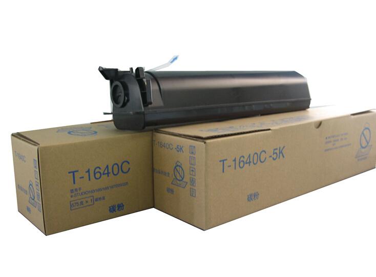 Compatible T1640c Copier Toner Cartridge for Toshiba163/165/203/205/166/167/206/207/237