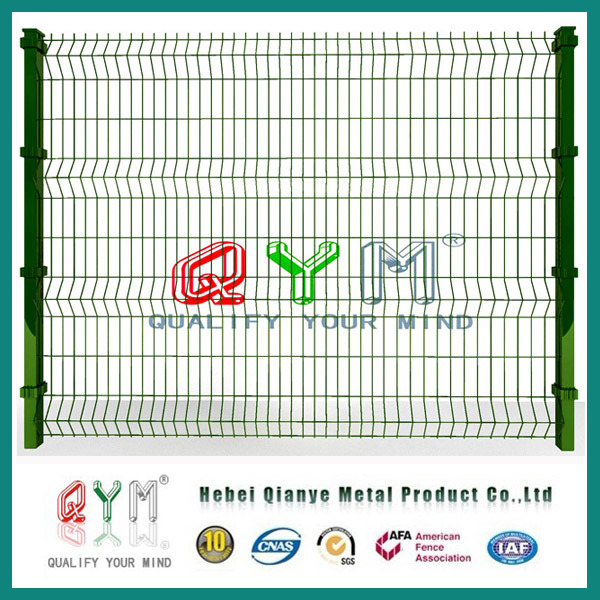 Welded Mesh Fence/ PVC Coated Fence Panel/Metal Fence Panel