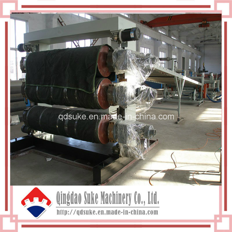PE/PP/PVC/PC/Pet Plastic Sheet Extrusion Making Machine