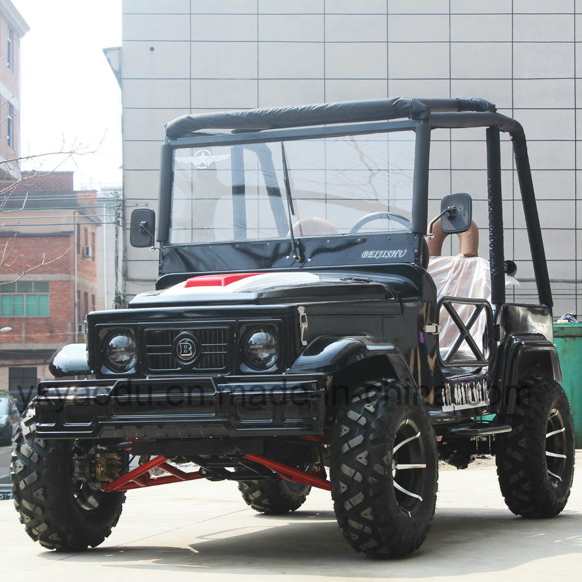 200cc Mini Willys Jeep with Disc Brake