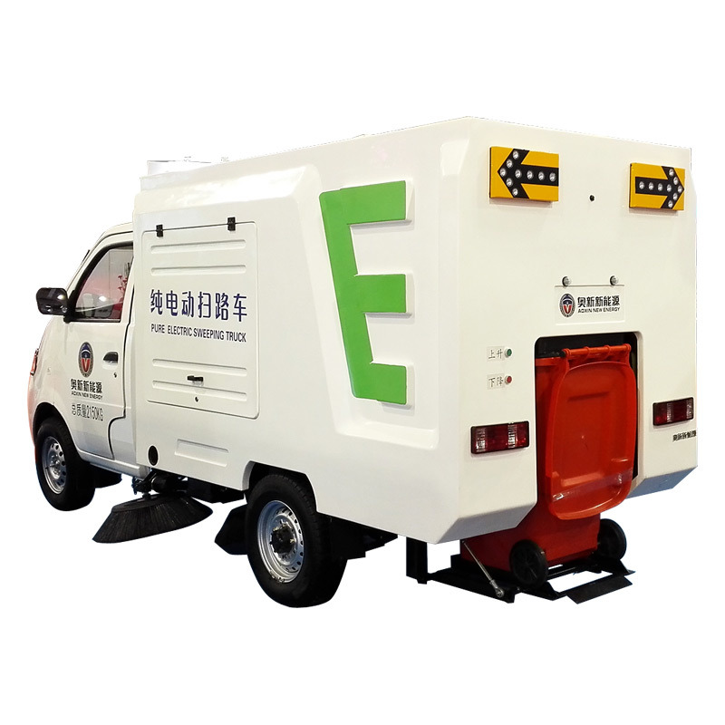 Environmental Sanitation Electric Sweeper Truck