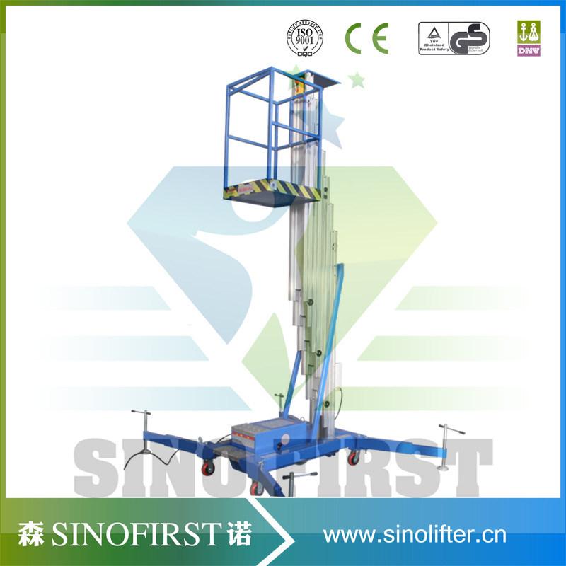 6m Light Weight Factory Maintenance Platform Aerial Lifting Equipment