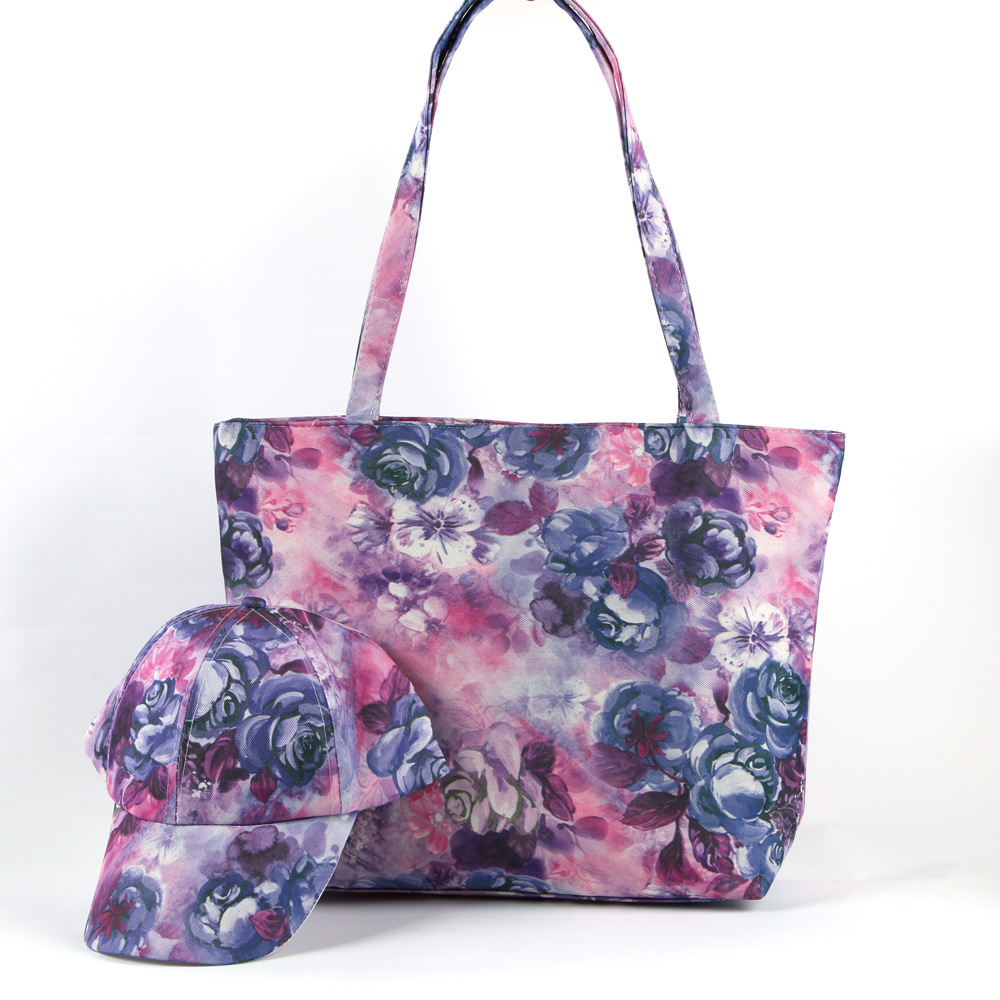 Beach Bag with Cap Handbag Leisure Bag GS022512-1
