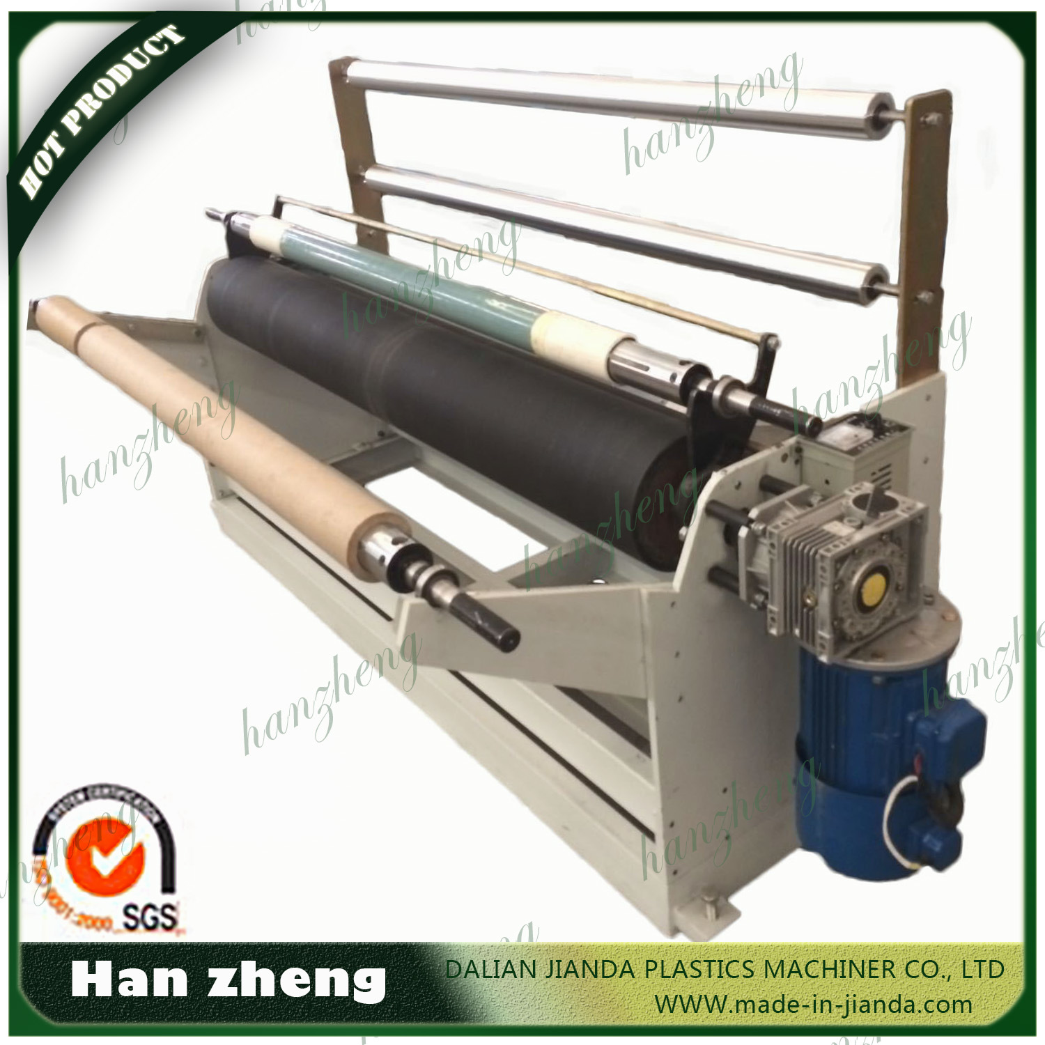 ABA HDPE Low Pressure Plastic Film Blowing Machine T-Shirt Plastic Bag Making Machine Sjm40-2-700
