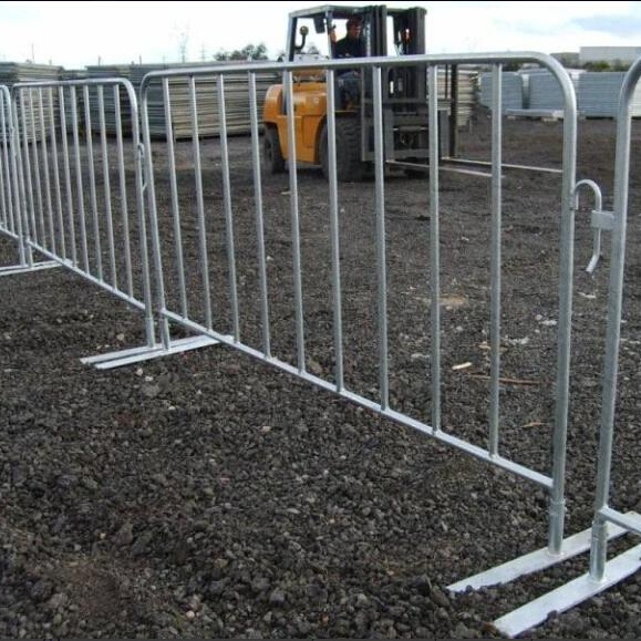 Galvanized Crowd Control Barrier, Pedestrian Barrier for Event