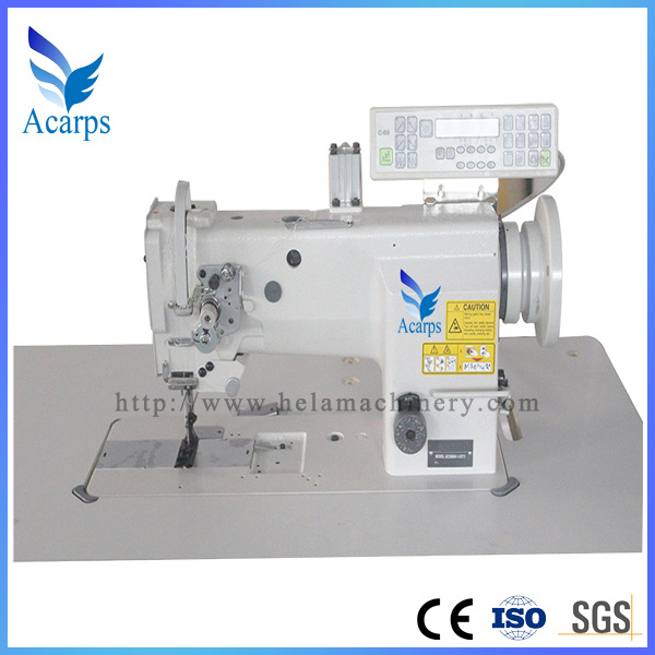 Single Needle Compound Feed Lock Stitch Sewing Machine for Suitcase and Cushion Gc20606-1