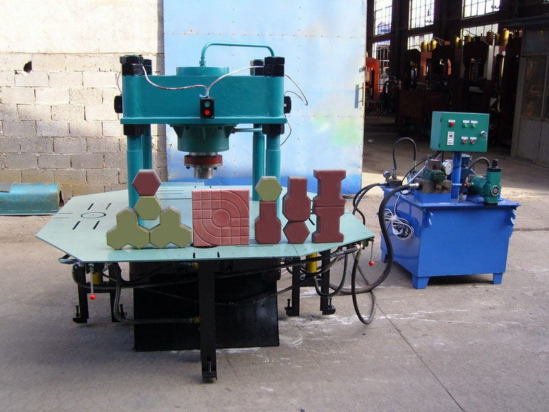 Hydraulic Paver Brick Machine