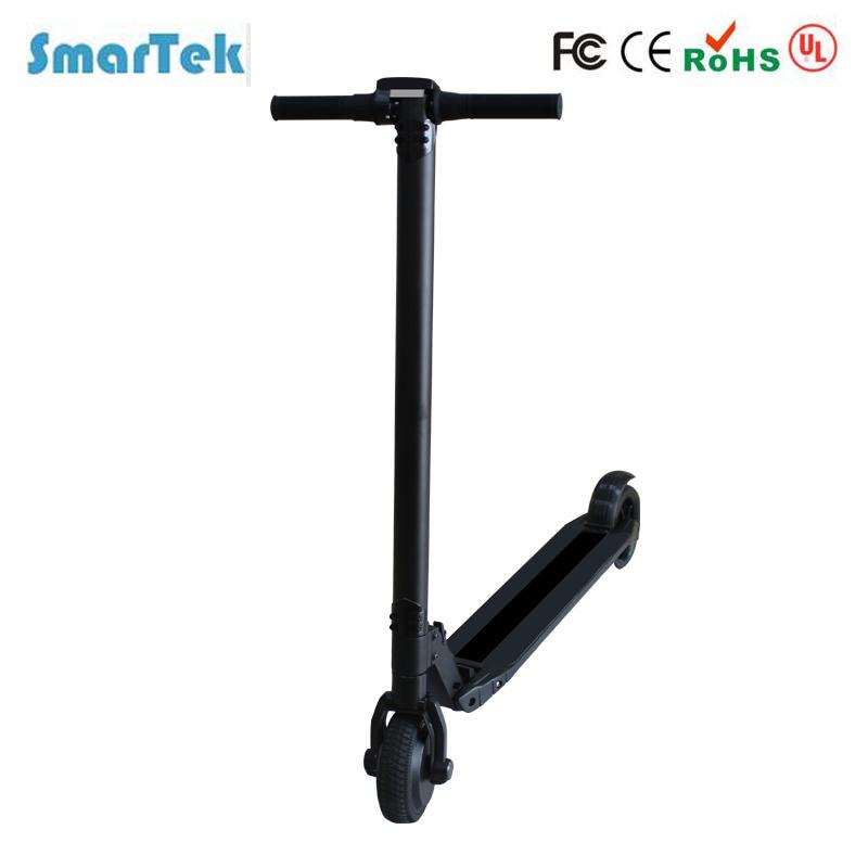 Smartek Lightest Foldable Urban Carbon Fiber Design Aluminum Scooter Electric Skateboard Patinete Electrico S-020-5