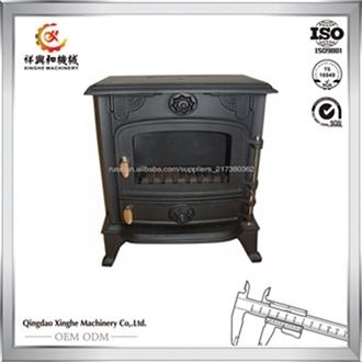 2017 Popular Style Wood Stove Cast Iron Wood Burning Stove