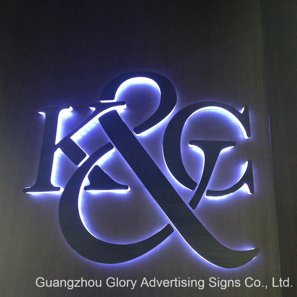 Brushed Ss Channel Letter Signboard/LED Sign Board