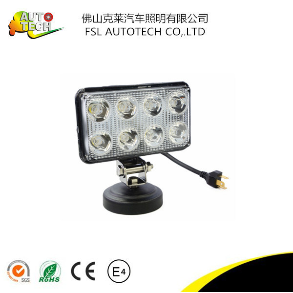 Hot Sale Best Quality 24W Auto Part LED Work Driving Light for Truck