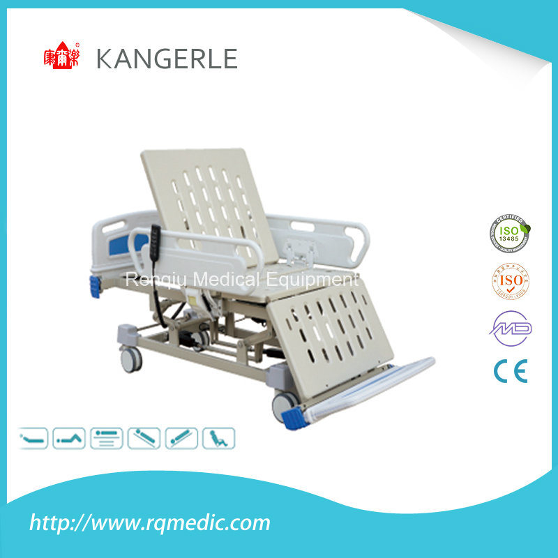 (CE, ISO) Six-Function Electric Medical Bed, Hospital Bed