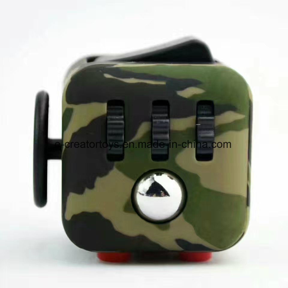New Color Drawing Fidget Cubes Relieves Stress and Anxiety for Children and Adults