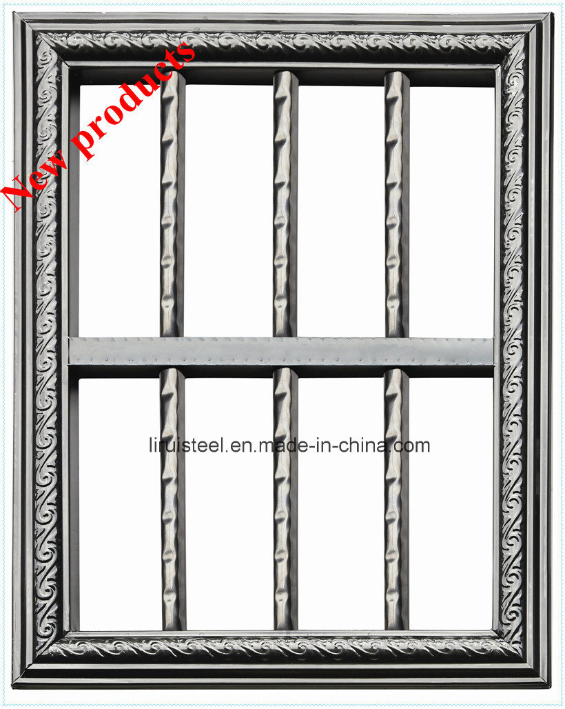 Coloured Stainless Steel Pipe for Protective Window