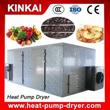 Heat Pump Dehydrator Type Vegetable and Fruit Drier Machine