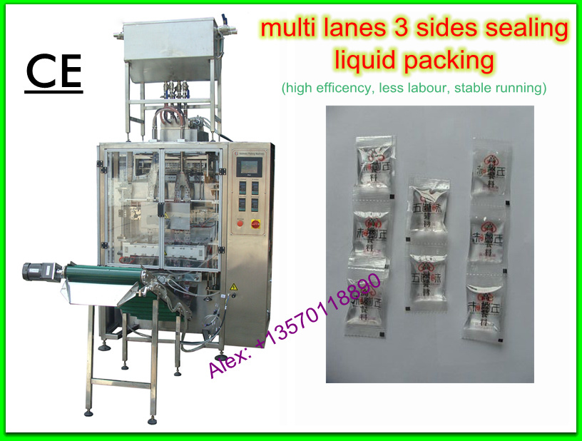 Multi-Lane 3-Side Sealing Liquid Packaging Machine