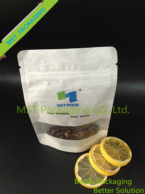 Rice Paper Bag with Clear Window / Cotton Bag