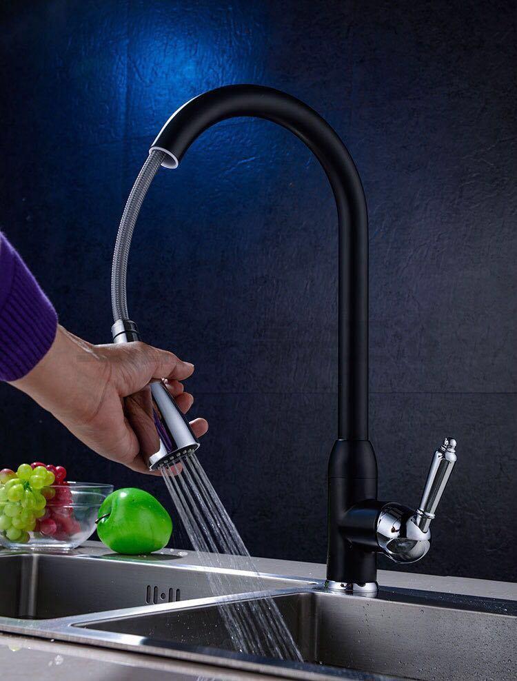 Brass Kitchen Faucet Vanity Sink Mixer Tap
