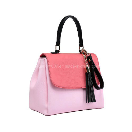 Fashion Designer Women Tote Handbag PU Leather Ladies Bag (MBNO041002)
